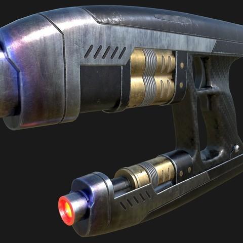 Download STL file Starlord Blaster (guardians of the galaxy), Sandhead