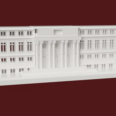Money Heist -netflix - model - paper house