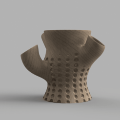 Download 3D printer files Voronoid POT AQUARIUM, Sandhead