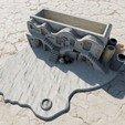3D printer models Star Wars - Tatooine Pencil holder & organizer, Sandhead