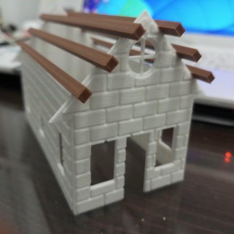 20180831_110820.jpg Download STL file Brick house • 3D printer template, Fira