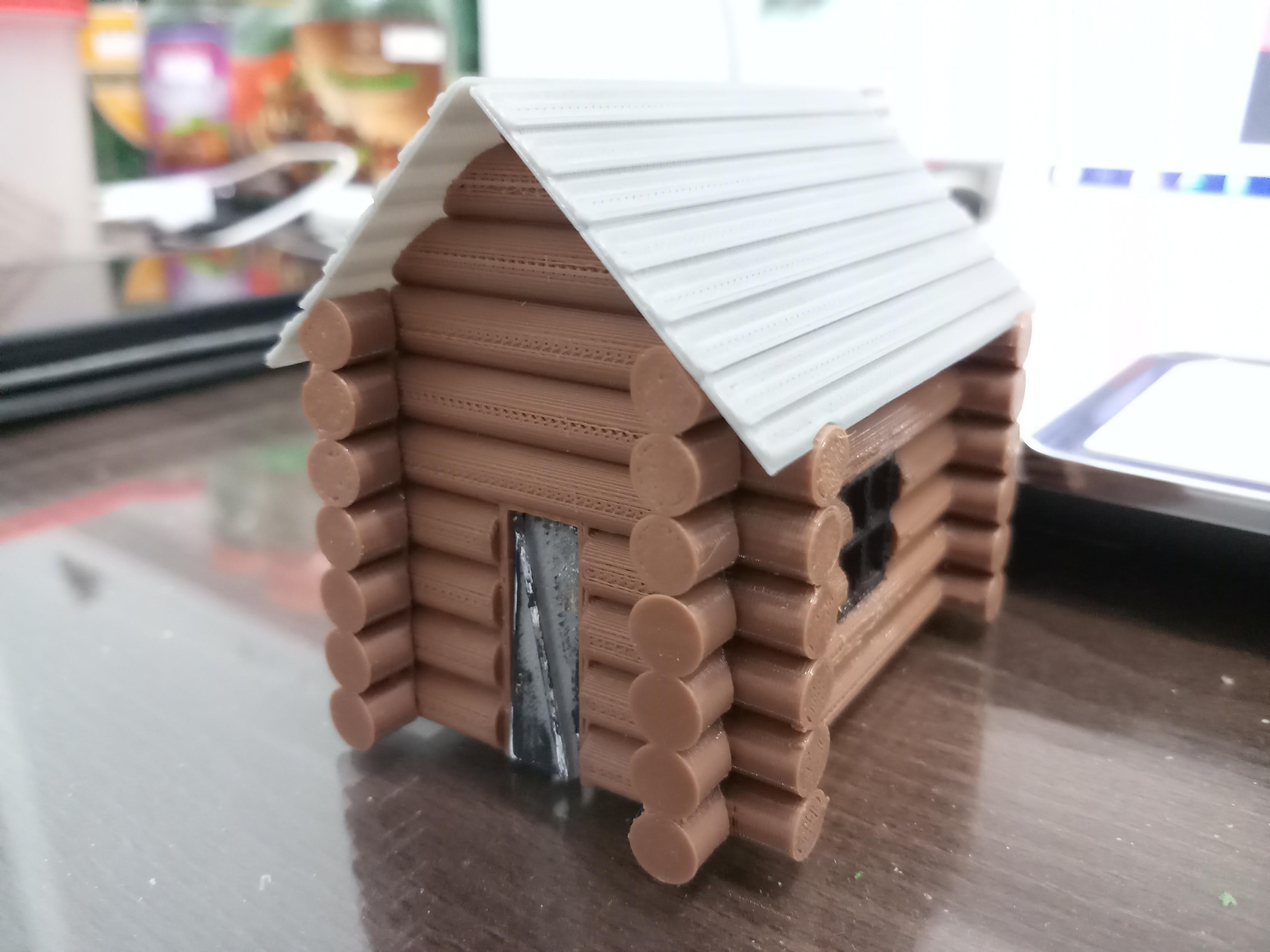 20180829_141105.jpg Download STL file Wooden house • 3D print model, Fira
