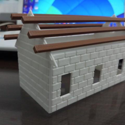 20180831_110855.jpg Download STL file Brick house • 3D printer template, Fira
