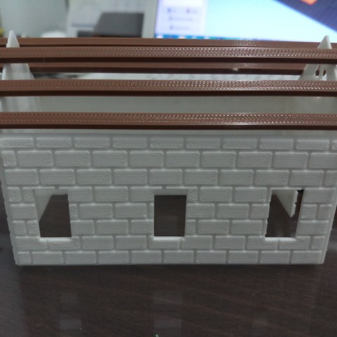 20180831_110710.jpg Download STL file Brick house • 3D printer template, Fira