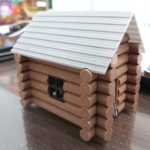 20180829_141037.jpg Download STL file Wooden house • 3D print model, Fira