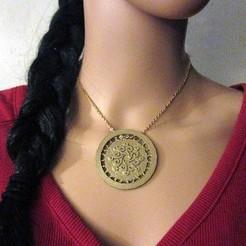 stl Medallion#1, MaeLee
