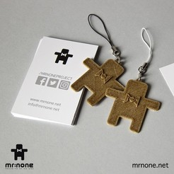 Download free 3D printing models NoNe's Keychain, NoNe