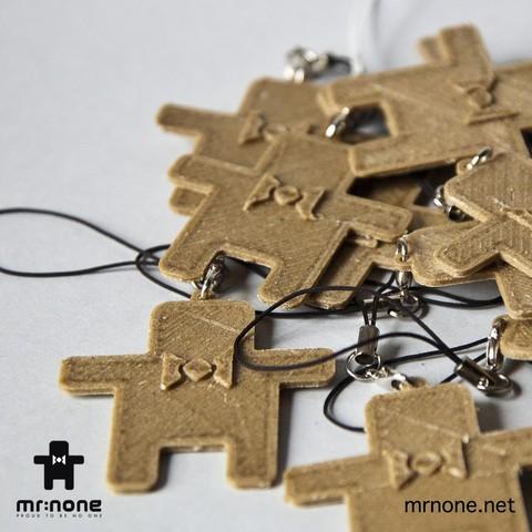 None_K02.jpg Download free STL file NoNe's Keychain • 3D printer design, NoNe