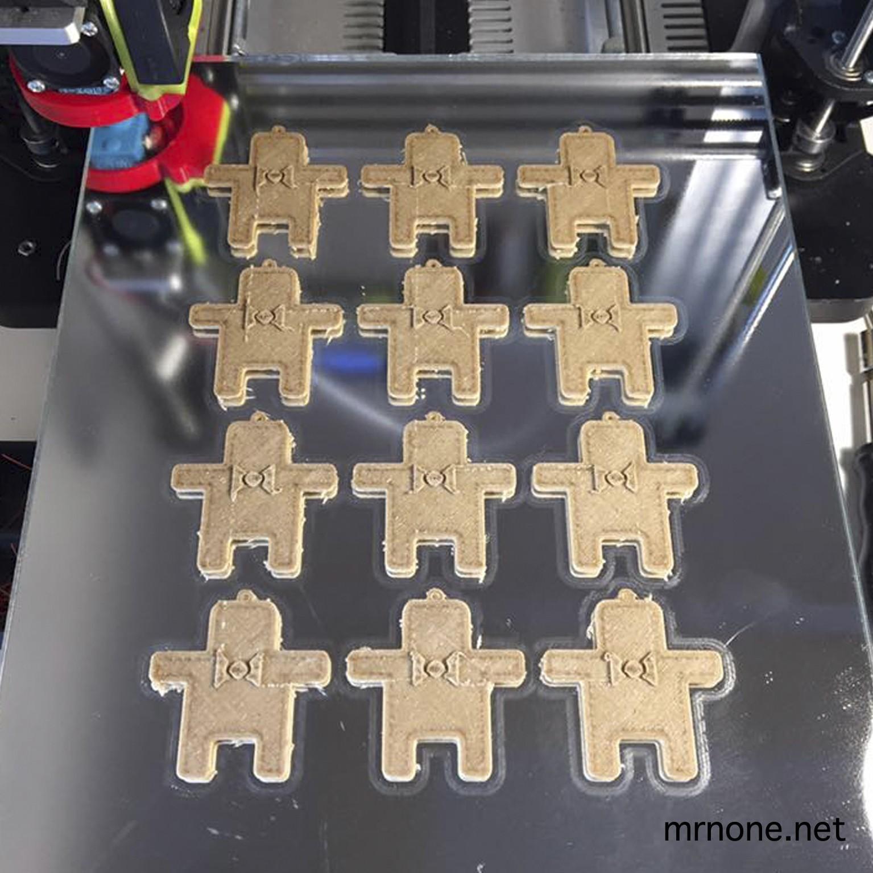 None_K05.jpg Download free STL file NoNe's Keychain • 3D printer design, NoNe