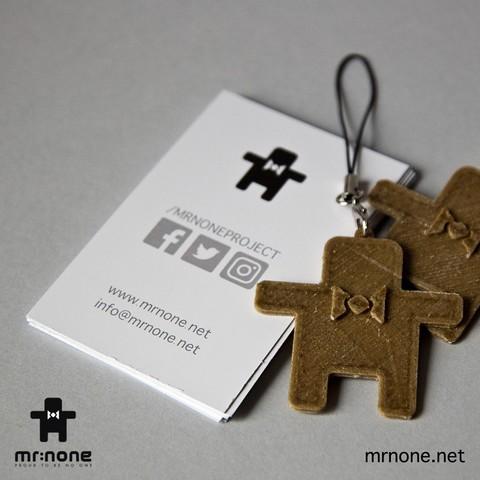 None_K03.jpg Download free STL file NoNe's Keychain • 3D printer design, NoNe