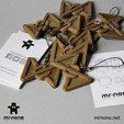 P_Keychain02.jpg Download free STL file Papillon keychain • 3D printing design, NoNe