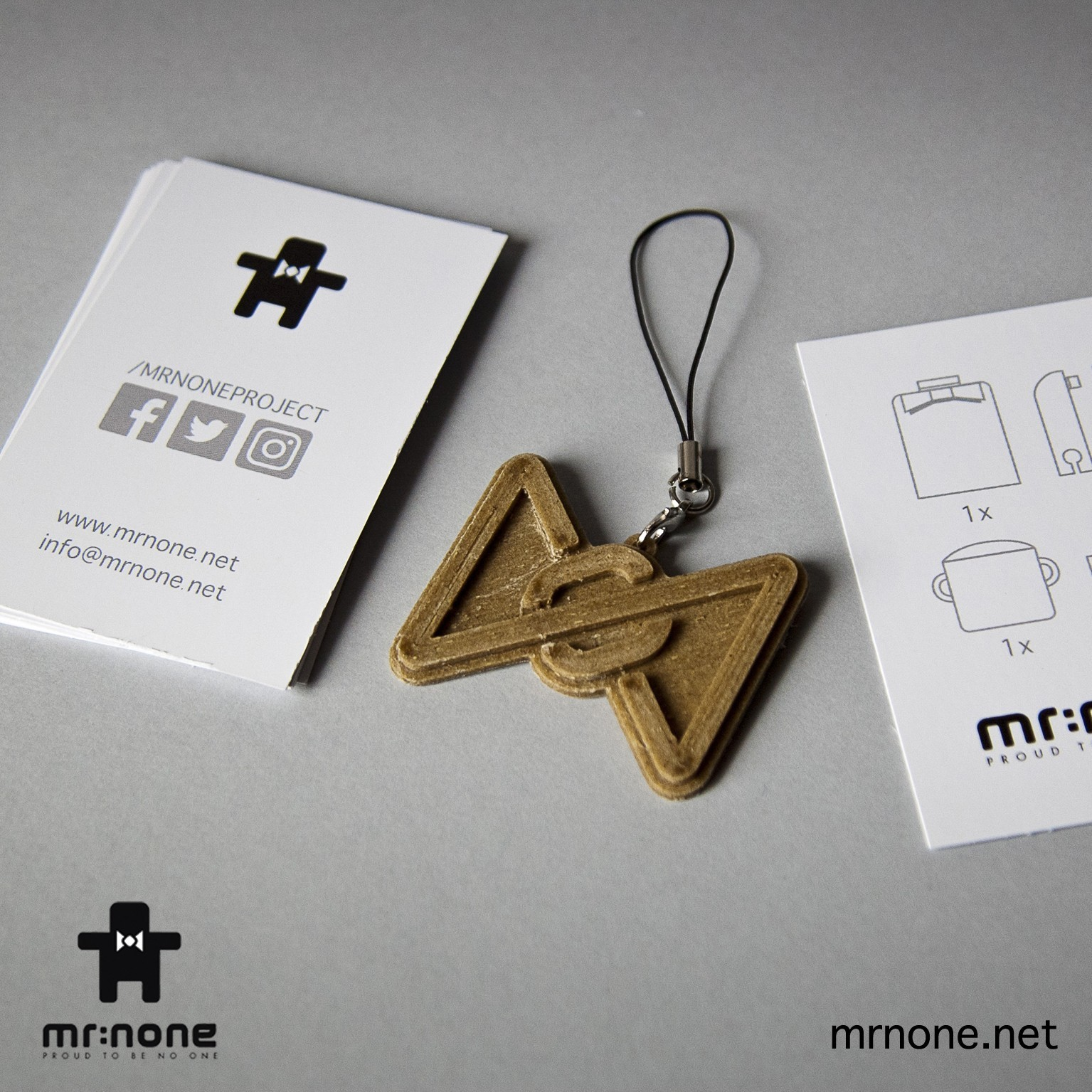 P_Keychain03.jpg Download free STL file Papillon keychain • 3D printing design, NoNe