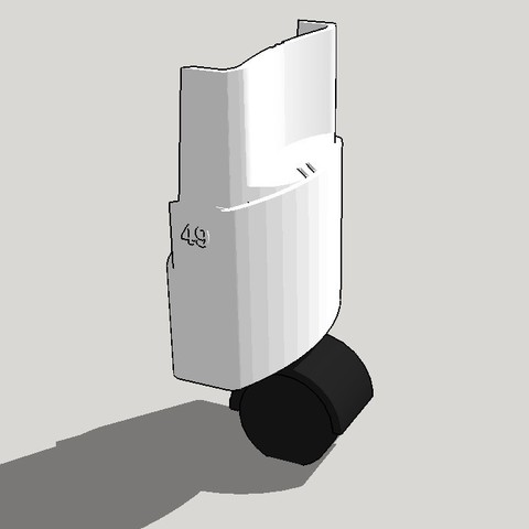 Télécharger fichier impression 3D gratuit CITY WORM - LOMBRICOMPOSTEUR - PETIT PIED - ROULETTE, Lefollp