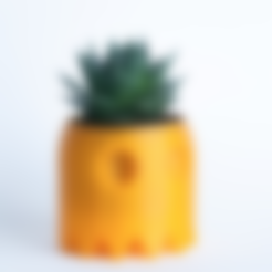 Download free STL file Ghost Pacman Planter • Object to 3D print, yoyo-31