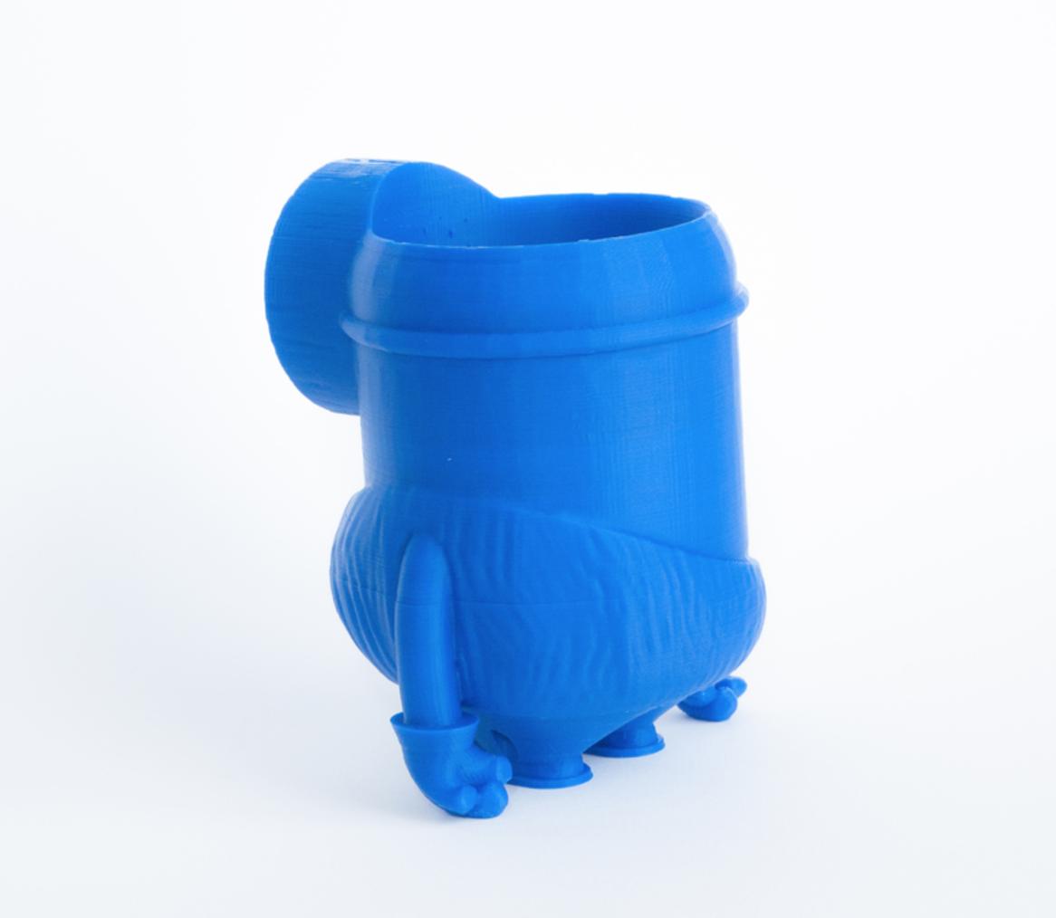 Capture d'écran 2017-02-21 à 17.36.57.png Download free STL file Minion stone age planter • 3D printer design, yoyo-31