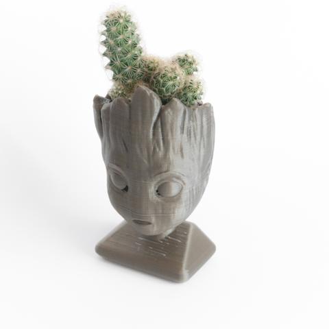 Capture d'écran 2017-02-21 à 17.43.00.png Download free STL file Baby groot (remixed) head planter • 3D printer object, yoyo-31