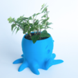 Capture d'écran 2017-02-21 à 17.34.28.png Download free STL file Octopus Planter • 3D printing design, yoyo-31