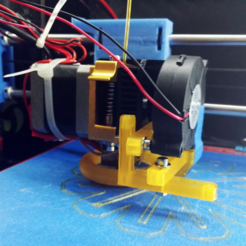 Download free 3D printer model Modular mount, 5015 turbo fan Prusa, yoyo-31
