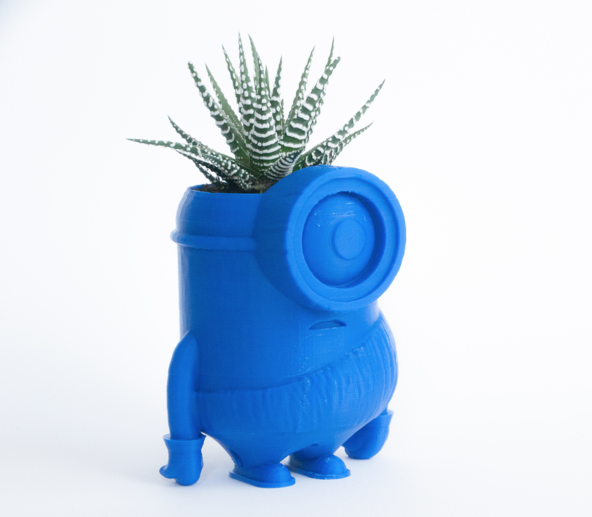 Capture d'écran 2017-02-21 à 17.35.44.png Download free STL file Minion stone age planter • 3D printer design, yoyo-31