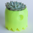 Télécharger fichier STL gratuit Pot de fleur PacMan Fantôme • Objet pour impression 3D, yoyo-31