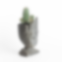 Free 3D model Baby groot (remixed) head planter, yoyo-31