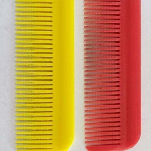 Download free 3D printing designs Hair Comb - that works, donek