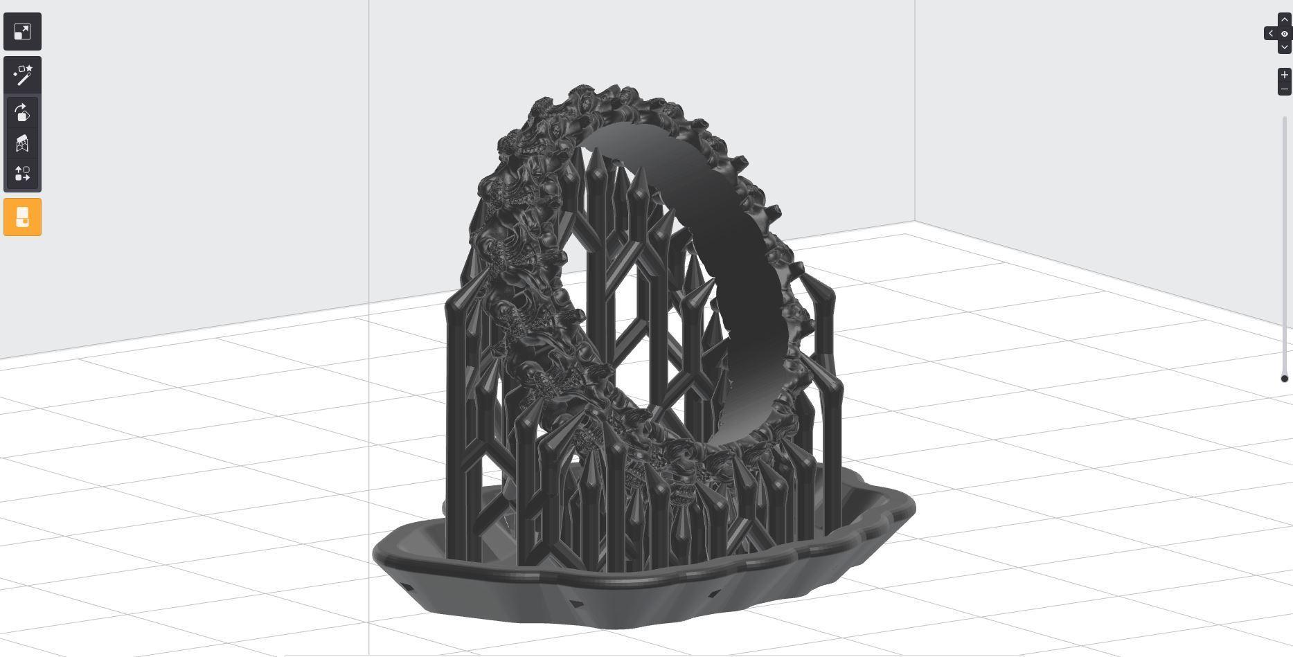 44.JPG Download OBJ file Biomechanical Ring - SpineRing  • 3D print object, Roman_Kharikov