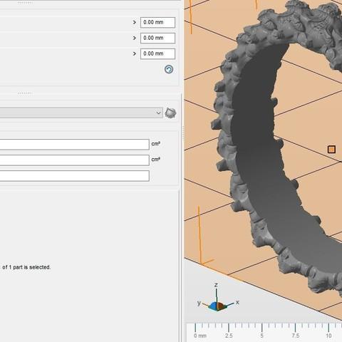 7.jpg Download OBJ file Biomechanical Ring - SpineRing  • 3D print object, Roman_Kharikov