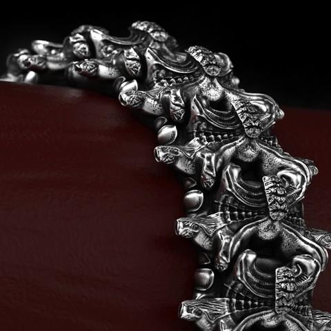 2.jpg Download OBJ file Biomechanical Ring - SpineRing  • 3D print object, Roman_Kharikov
