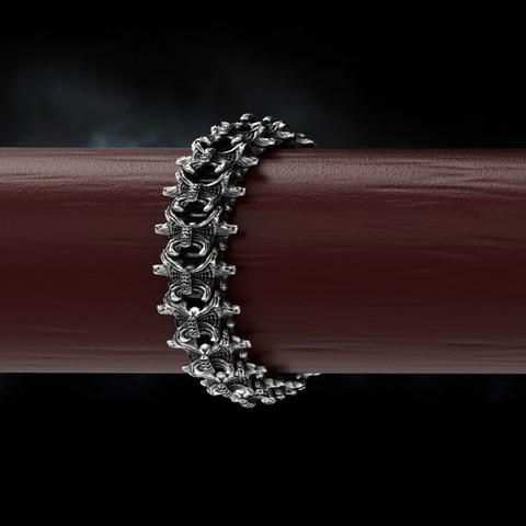 3.jpg Download OBJ file Biomechanical Ring - SpineRing  • 3D print object, Roman_Kharikov