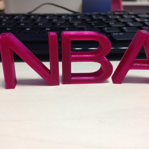 IMG_1019.JPG Download STL file Letters • Object to 3D print, n256