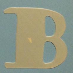 Fichier imprimante 3D gratuit Alphabet, n256