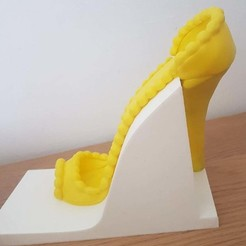 Download free 3D printing templates Pastry heel shoe holder, n256