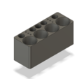 Imprimir en 3D gratis Almacenamiento de tinta comestible, n256