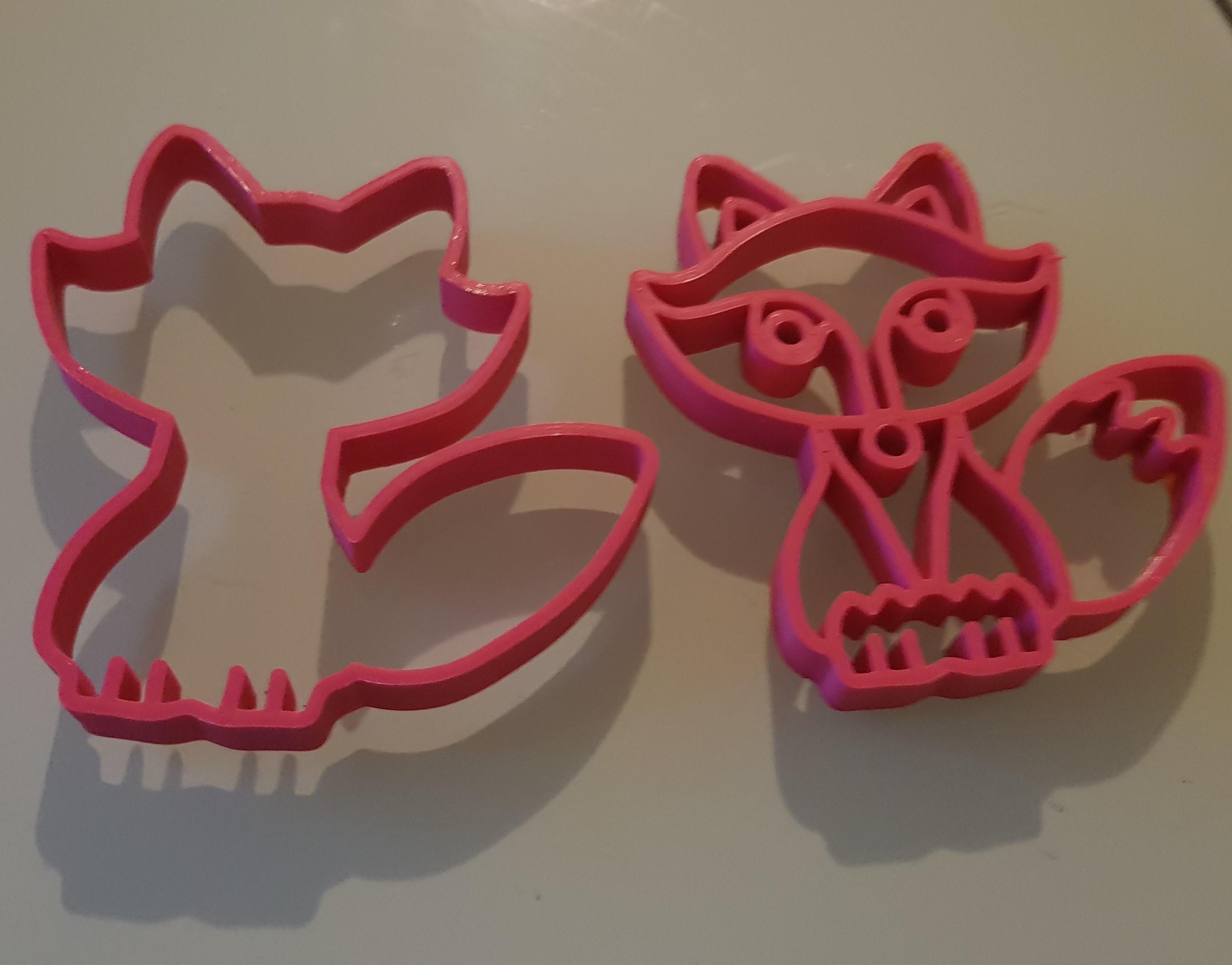 20180823_222808.jpg Download STL file Fox cutter • 3D printer object, n256