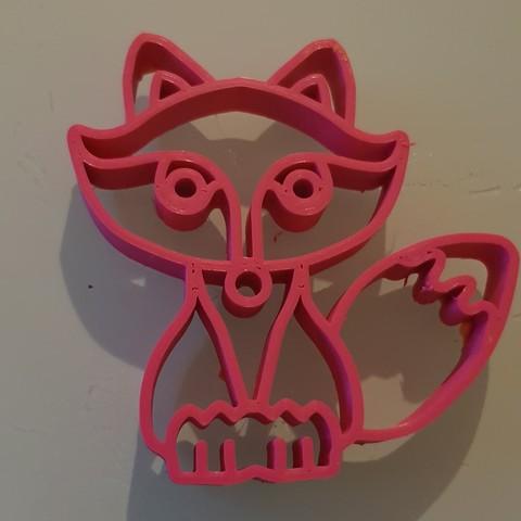 20180823_222728.jpg Download STL file Fox cutter • 3D printer object, n256