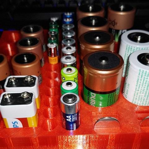 piles1.jpg Télécharger fichier STL Piles rangements • Modèle pour imprimante 3D, n256