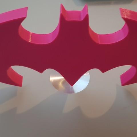 20180719_2139231.jpg Download STL file BATMAN • 3D print object, n256