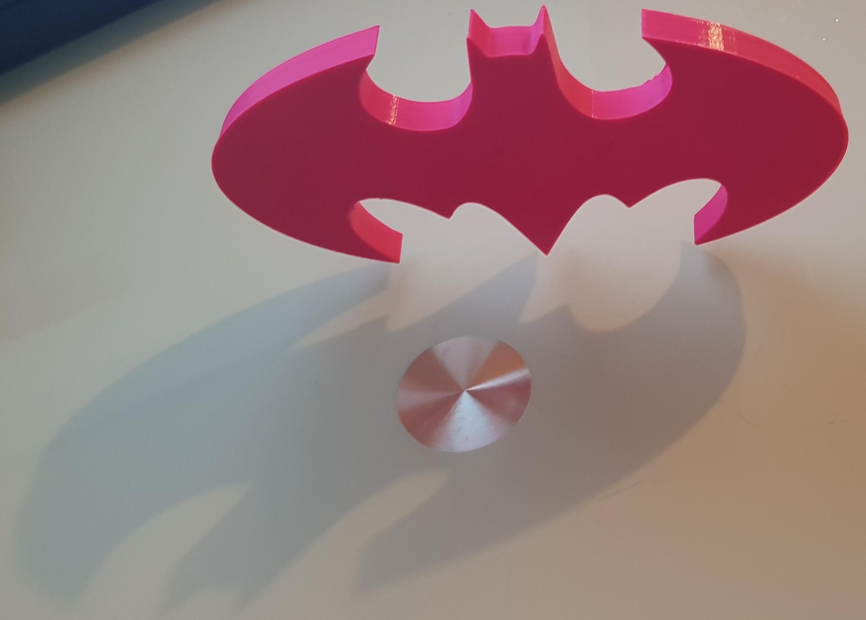20180719_2139461.jpg Download STL file BATMAN • 3D print object, n256