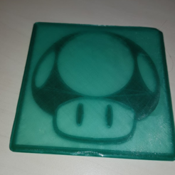 Free Coasters 3D printer file, n256