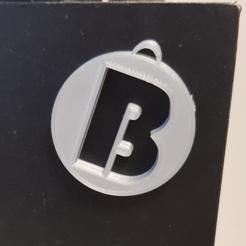 B.png Télécharger fichier STL Pendentifs Alphabets • Design pour impression 3D, n256