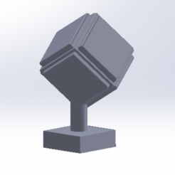 Free 3d model the cube, maxbout
