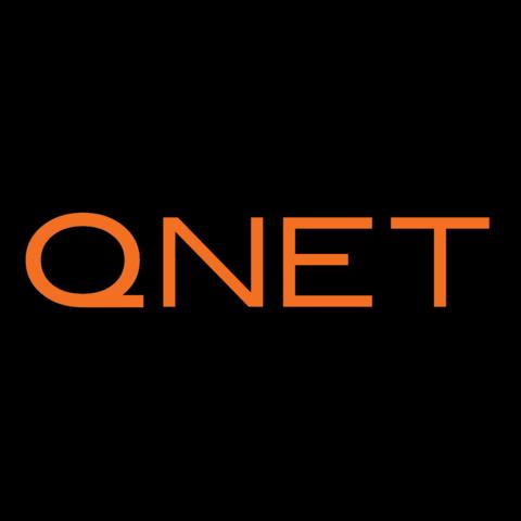 qnet-logo.png Download STL file QNET LOGO • Design to 3D print, alono