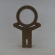 Free STL file Head Wine, 3Delivery