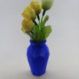 Download free STL file Half low poly Vase • Model to 3D print, 3Delivery