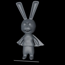 simone5.jpg Download free STL file super rabbit  • 3D printer template, jirby