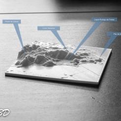 Free 3D print files 3D MAP - RIO DE JANEIRO - BRAZIL, OTTO3D