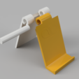 3D print files Three parts foldable stand for mobile phone, OTTO3D