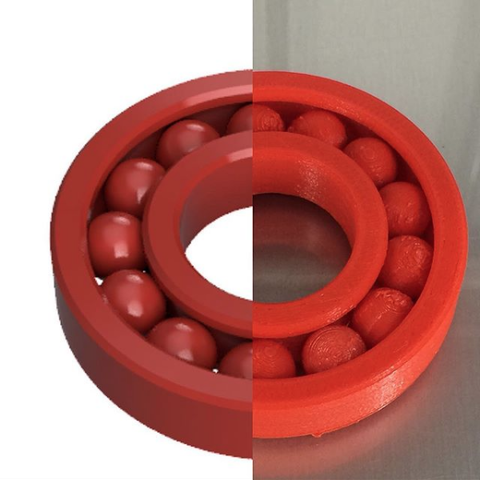 Free STL files Ball Bearing, OTTO3D