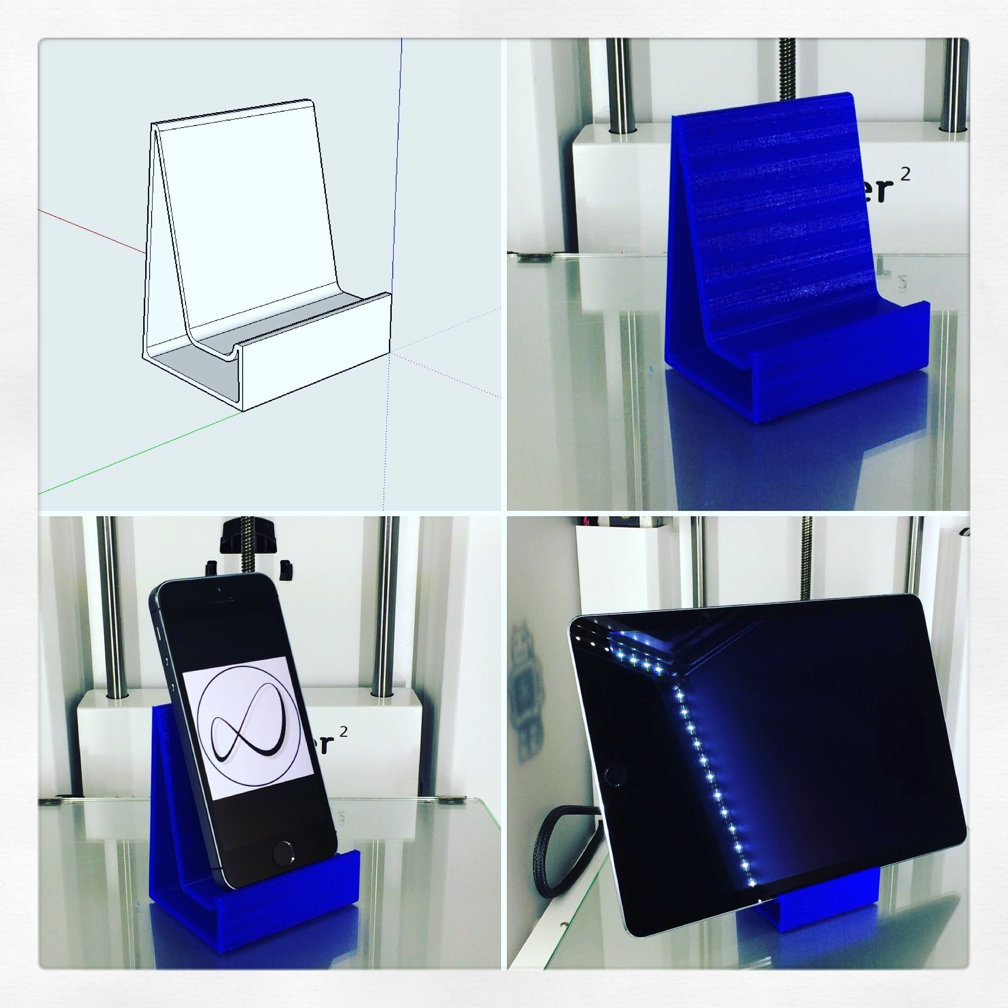 IMG_1942.JPG Download free STL file Universal Stand for Mobile Phone and Tablet • 3D print object, OTTO3D